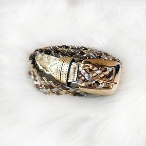 ✨Vintage - Gold Braided Belt✨